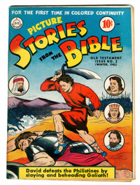 Picture Stories from the Bible Old Testament #2 (DC, 1942) Condition: FN/VF