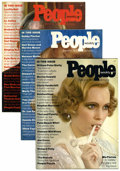 Magazines:Miscellaneous, People Weekly #1-12 Group (Time Life, 1974-75) Condition: Average VF-.... (Total: 12 Comic Books)