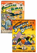 Golden Age (1938-1955):Religious, Picture Stories from the Bible Old Testament #1 and 4 Group (DC, 1942-43) Condition: Average FN-.... (Total: 2 Comic Books)