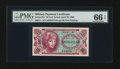 Military Payment Certificates:Series 651, Series 651 10¢ PMG Gem Uncirculated 66 EPQ. ...