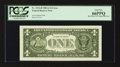 Error Notes:Miscellaneous Errors, Fr. 1912-H $1 1981A Federal Reserve Note. PCGS Gem New 66PPQ.. ...