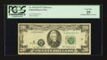 Error Notes:Shifted Third Printing, Fr. 2072-H $20 1977 Federal Reserve Note. PCGS Very Fine 25.. ...