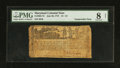 Colonial Notes:Maryland, Maryland July 26, 1775 $1 1/3 PMG Very Good 8 Net.. ...