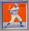 Baseball Cards:Singles (1930-1939), 1935 Wheaties Premium Jimmie Foxx Series 1. ...