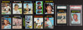 Baseball Cards:Sets, 1971 Topps Baseball Near Set (722/752). ...