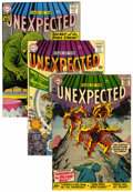 Silver Age (1956-1969):Horror, Tales of the Unexpected Group (DC, 1958-67).... (Total: 7 ComicBooks)