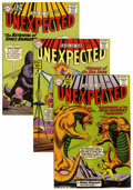 Silver Age (1956-1969):Horror, Tales of the Unexpected #61, 62, and 71 Group (DC, 1961-62)Condition: Average VF.... (Total: 3 Comic Books)