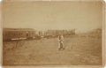 American Indian Art:Photographs, SCENE AT GREAT SALT LANDING, GREAT SALT LAKE, UTAH . c. 1880...