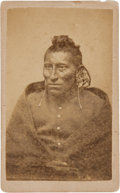 American Indian Art:Photographs, PAWNEE SCOUT . c. 1875 ...