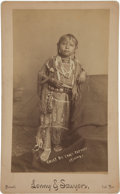 Photographs, CHIEF BIG TREE'S PAPOOSE -- KIOWA. c. 1890...