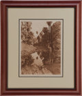 American Indian Art:Photographs, BEFORE THE WHITE MAN CAME -- PALM CANON . c. 1924...