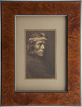 American Indian Art:Photographs, ZUNI GOVERNOR. c. 1903...