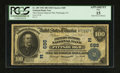 National Bank Notes:Pennsylvania, Pittsburgh, PA - $100 1902 Date Back Fr. 689 The Farmers Deposit NB Ch. # (E)685. ...