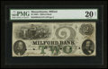 Obsoletes By State:Massachusetts, Milford, MA- Milford Bank $2 Oct. 18, 1863 G4c. ...