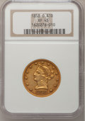 Liberty Eagles: , 1858-O $10 XF45 NGC. NGC Census: (41/132). PCGS Population (33/69).Mintage: 20,000. Numismedia Wsl. Price for problem free...