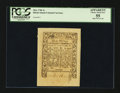 Colonial Notes:Rhode Island, Rhode Island May 1786 3s PCGS Apparent Choice About New 55.. ...