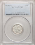 Barber Dimes: , 1896-O 10C XF45 PCGS. PCGS Population (10/44). NGC Census: (3/31).Mintage: 610,000. Numismedia Wsl. Price for problem free...