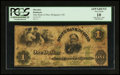 Obsoletes By State:Ohio, Bridgeport, OH- State Bank of Ohio $1 June 1, 1861 G114a Wolka0205-08. ...