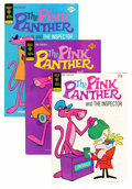 Bronze Age (1970-1979):Cartoon Character, Pink Panther File Copy Group (Gold Key, 1973-80) Condition: Average VF+.... (Total: 40 Comic Books)