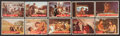 Non-Sport Cards:Sets, 1956 Topps Davy Crockett - Green Backs Complete Set (80). ...