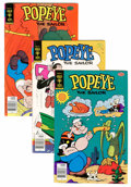 Bronze Age (1970-1979):Cartoon Character, Popeye #139-155 File Copy Group (Gold Key, 1978-80) Condition:Average VF+.... (Total: 17 Comic Books)
