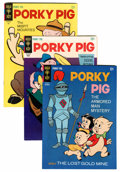 Silver Age (1956-1969):Cartoon Character, Porky Pig File Copies Group (Gold Key, 1965-80) Condition: AverageVF+.... (Total: 35 Comic Books)