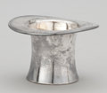 Silver Holloware, American:Vases, AN AMERICAN SILVER TOP HAT-FORM VASE . Reed & Barton, Taunton, Massachusetts, circa 1955. Marks: REED & BARTON, STERLING, ...