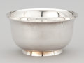 Silver Holloware, American:Bowls, AN AMERICAN SILVER BOWL . Tiffany & Co., New York, New York,circa 1950. Marks: TIFFANY & CO., MAKERS STERLING SILVER2322...