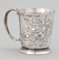 Silver Holloware, American:Cups, AN AMERICAN SILVER CUP . Frank Whiting & Company, Attleboro,Massachusetts, circa 1880. Marks: HAND CHASED, STERLING BYFR...