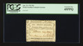 Colonial Notes:North Carolina, North Carolina April 23, 1761 20s PCGS Extremely Fine 45PPQ.. ...