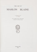 Books:Art & Architecture, G. Legman. SIGNED. The Art of Mahlon Blaine. [Lansing]: Peregrine Books, 1982. First edition, limited to 125. Sign...