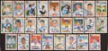 Baseball Cards:Autographs, 1983 Donruss and Leaf Hall of Famers Signed Cards Lot of 26....