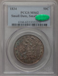 Bust Half Dollars, 1834 50C Small Date, Small Letters MS62 PCGS. CAC. O-115, R.2....