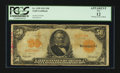 Large Size:Gold Certificates, Fr. 1199 $50 1913 Gold Certificate. PCGS Apparent Fine 12.. ...