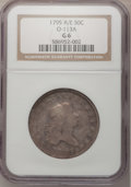 Early Half Dollars, 1795 50C Two Leaves Good 6 NGC. O-113a, R.4....