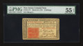 Colonial Notes:New Jersey, New Jersey March 25, 1776 3s PMG About Uncirculated 55 EPQ.. ...