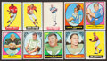 Football Cards:Sets, 1964 and 1967 Topps Football Collection (240) with 1967 Near Set. ...