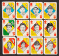 Baseball Cards:Lots, 1951 Topps Red and Blue Backs Baseball Collection (56). ...