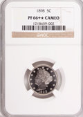 Proof Liberty Nickels, 1898 5C PR66+ ★ Cameo NGC....