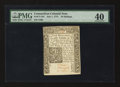 Colonial Notes:Connecticut, Connecticut July 1, 1775 10s Uncancelled PMG Extremely Fine 40.. ...
