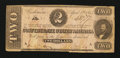 Confederate Notes:1863 Issues, T61 $2 1863.. ...