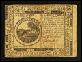 Colonial Notes:Continental Congress Issues, Continental Currency May 10, 1775 $6 Fine.. ...