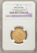 Classic Half Eagles: , 1837 $5 --Improperly Cleaned--NGC Details. Fine. NGC Census:(1/382). PCGS Population (1/178). Mintage: 207,121. Numismedia ...