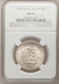 1936 SET Rhode Island PDS Set MS65 NCS. NGC Census: (0/0). PCGS Population (0/0). (#9366)