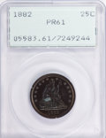 Proof Seated Quarters: , 1882 25C PR61 PCGS. PCGS Population (24/255). NGC Census: (7/231).Mintage: 1,100. Numismedia Wsl. Price for problem free N...