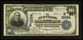 National Bank Notes:Pennsylvania, Annville, PA - $10 1902 Plain Back Fr. 632 The Annville NB Ch. #(E)2384. ...