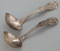 Silver Flatware, American:Reed & Barton, A PAIR OF AMERICAN SILVER CREAM LADLES . Reed & Barton,Taunton, Massachusetts, circa 1907. Marks: Reed & Barton,STERLING... (Total: 2 Items)