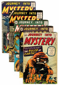 Golden Age (1938-1955):Horror, Journey Into Mystery Group (Marvel, 1955-62) Condition: AverageGD+.... (Total: 5 Comic Books)