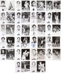 Autographs:Photos, Basketball Superstars Signed Photograph Collection Lot of 22Featuring Pete Maravich....
