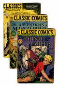 Golden Age (1938-1955):Classics Illustrated, Classics Illustrated Short Box Group (Gilberton, 1940s-50s) Condition: Average GD....